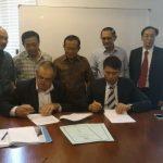 Signing between DPW & Indomac